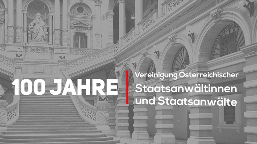 100 Jahre Vereinigung österreichischer Staatsanwältinnen und Staatsanwälte - Video